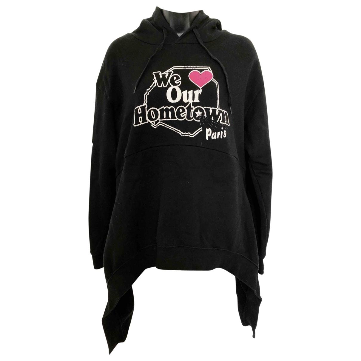 Vetements \N Black Cotton Knitwear & Sweatshirts for Men M