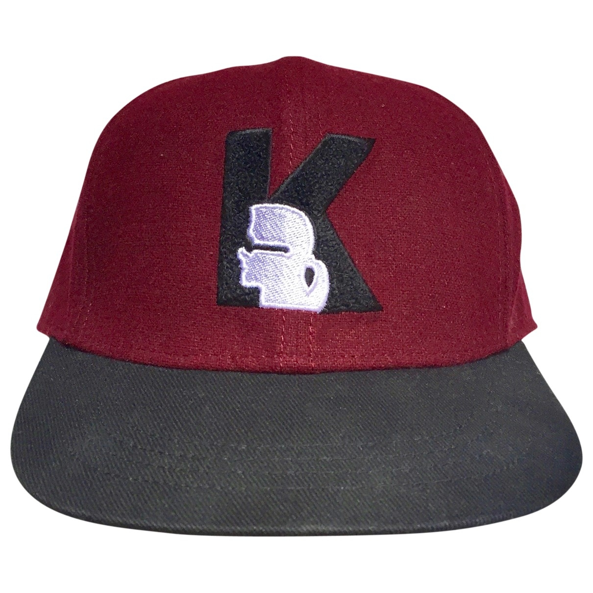 Karl Lagerfeld \N Burgundy Wool hat & pull on hat for Men 22.2 Inches
