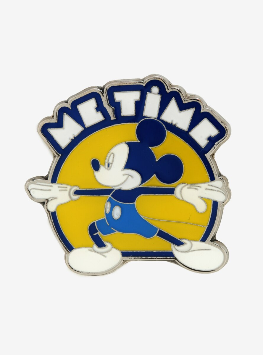 Loungefly Disney Mickey Mouse Yoga Me Time Enamel Pin - BoxLunch Exclusive