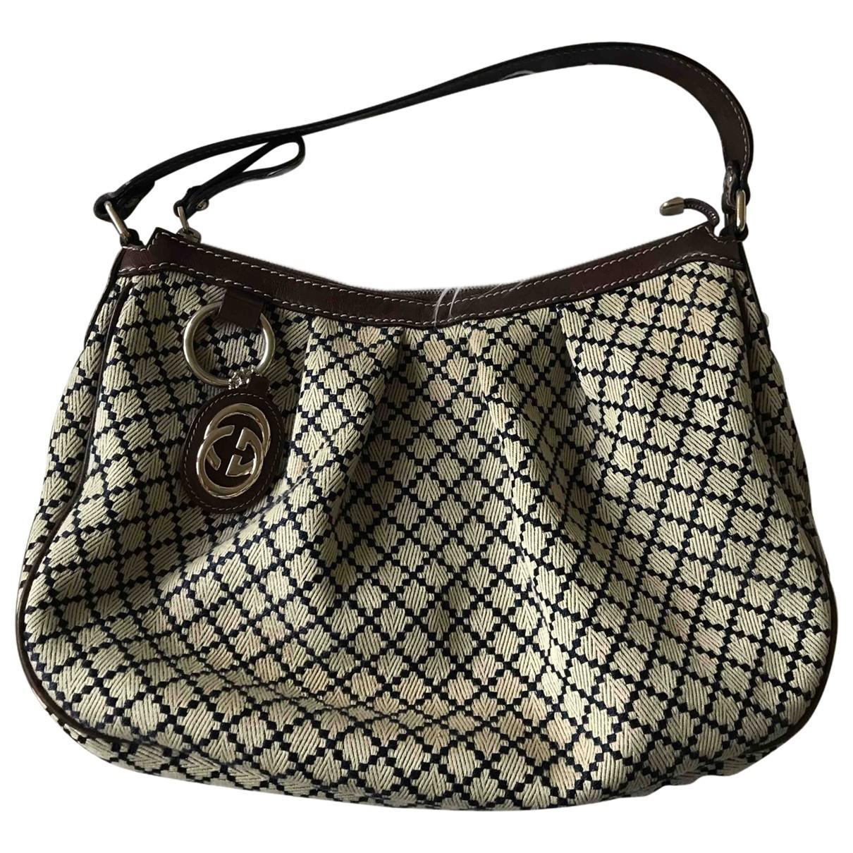 Gucci \N Handtasche in Leinen