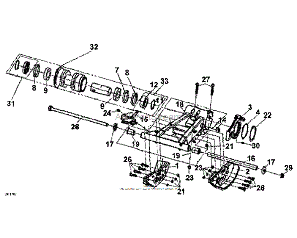 Can-AM OEM Swing Arm