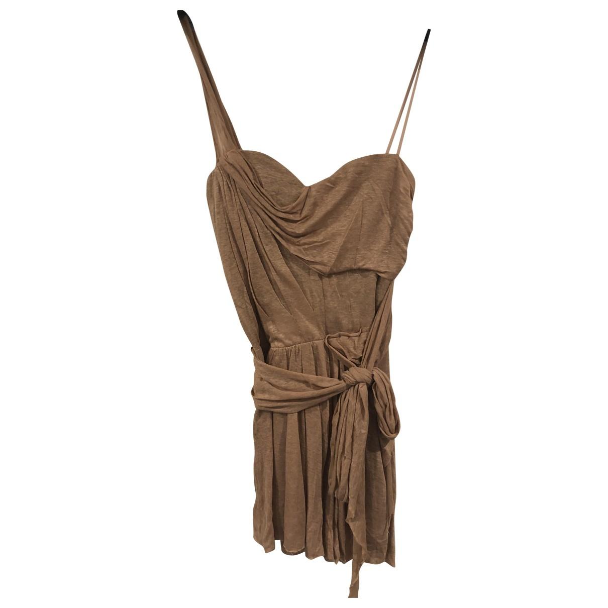 Isabel Marant \N Pink Linen dress for Women 2 0-5