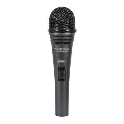 Microphone vocal dynamique, > 130dB SPL, broches XLR plaqué or - Monoprice®