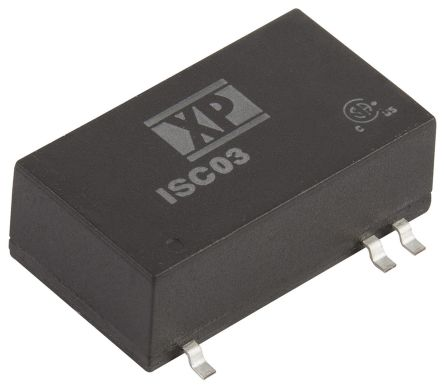 XP Power ISC 3W Isolated DC-DC Converter Surface Mount, Voltage in 18 → 75 V dc, Voltage out 5V dc