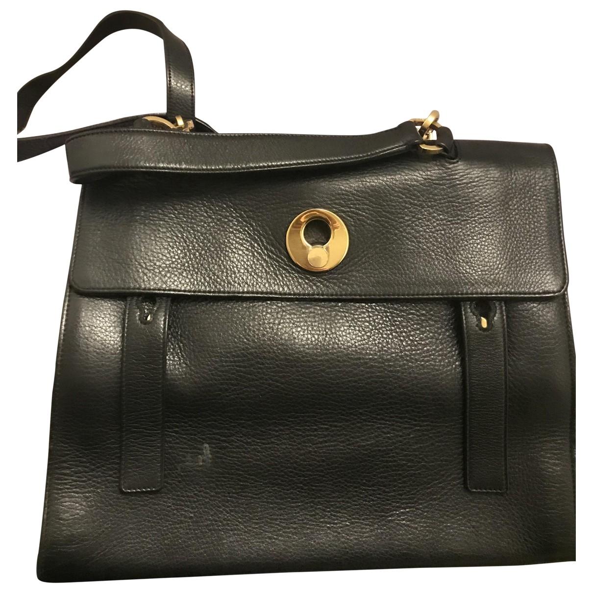 Saint Laurent Muse II Black Leather handbag for Women \N