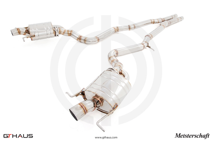 Meisterschaft ME1732500 Titanium GTS Ultimate Exhaust System Mercedes-Benz S65 V12 Bi-Turbo AMG Sedan 14-15
