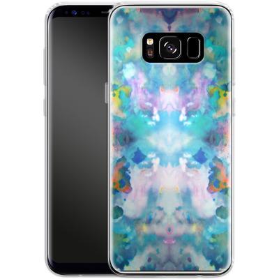 Samsung Galaxy S8 Silikon Handyhuelle - Paint Splatter von caseable Designs