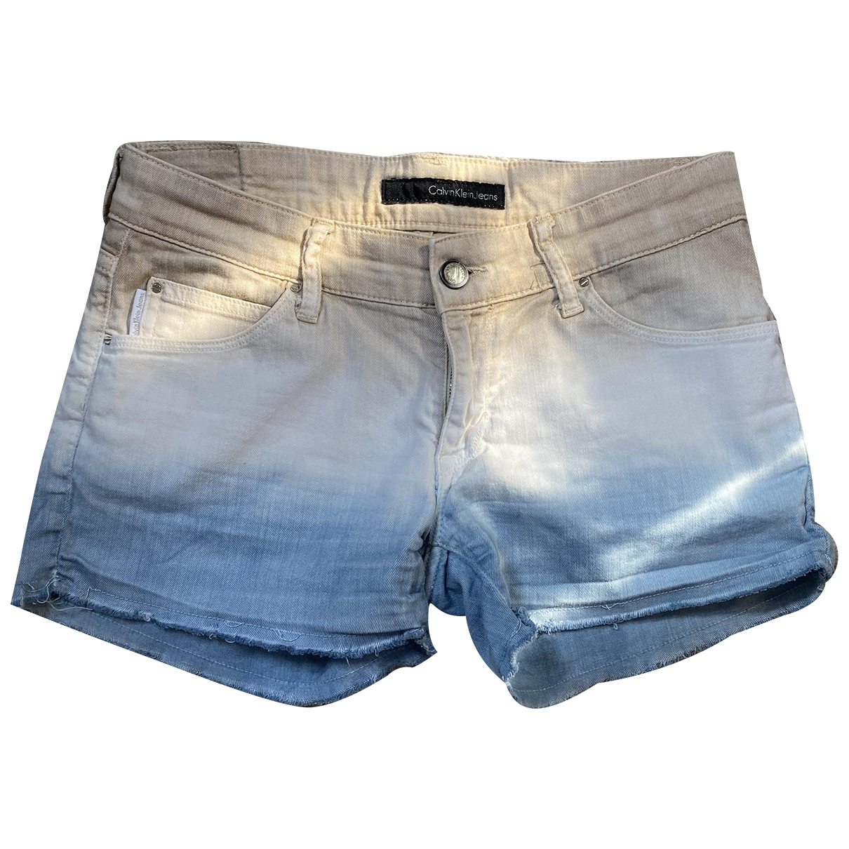 Calvin Klein \N Multicolour Denim - Jeans Shorts for Women 8 UK