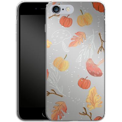 Apple iPhone 6 Plus Silikon Handyhuelle - Fall Woodland Grey von Mukta Lata Barua