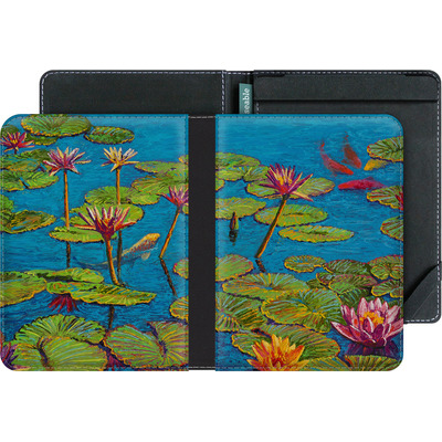 tolino vision 3 HD eBook Reader Huelle - Will Cormier - Six Koi in Lilly Pond von TATE and CO