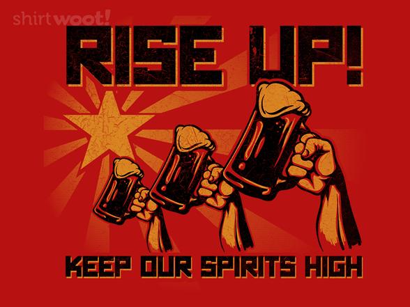 Spirited Revolution T Shirt