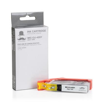 Canon CLI-42GY 6390B002 cartouche d'encre compatible grise - Moustache®