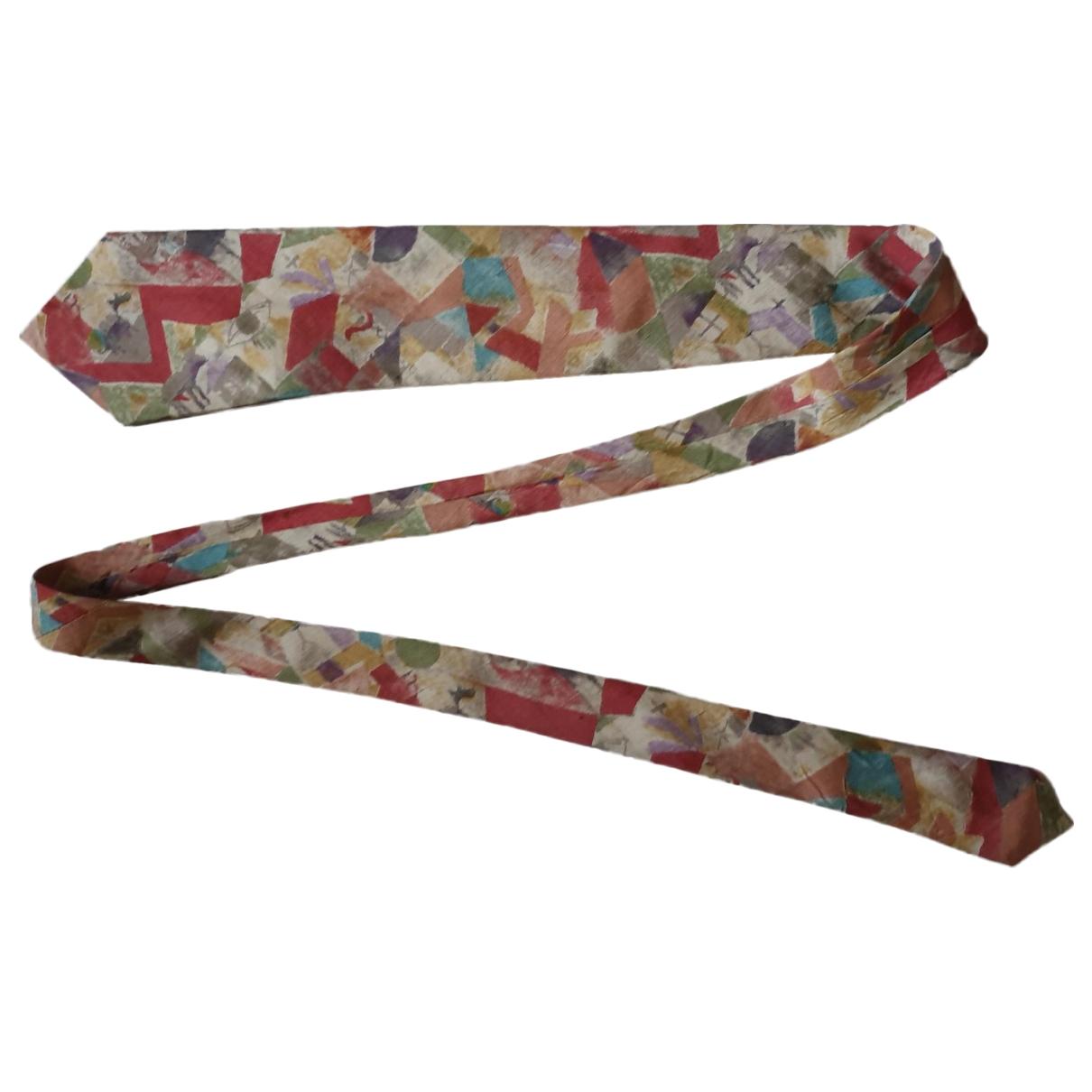 Hugo Boss - Cravates   pour homme en soie - multicolore