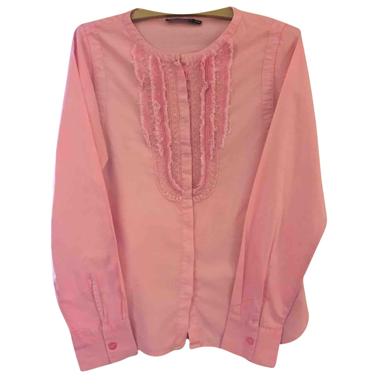 Antik Batik \N Top in  Rosa Baumwolle