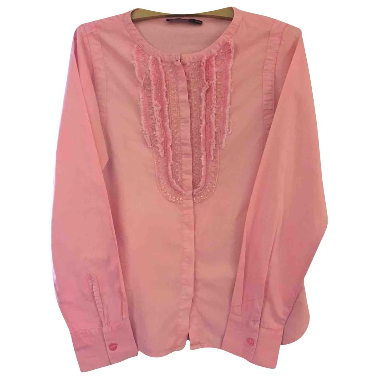 Antik Batik \N Top in  Rosa Baumwolle