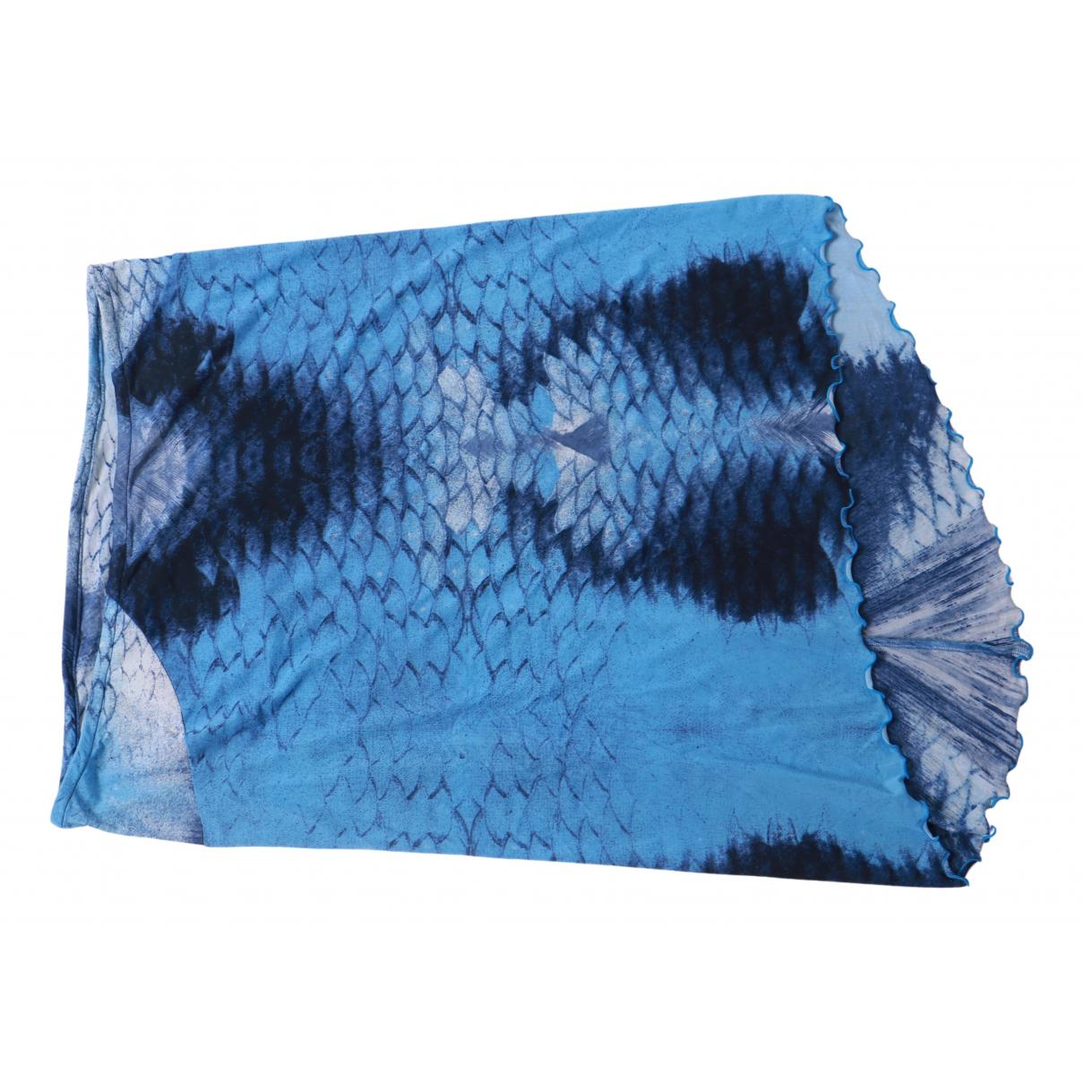 Just Cavalli - Jupe   pour femme - bleu