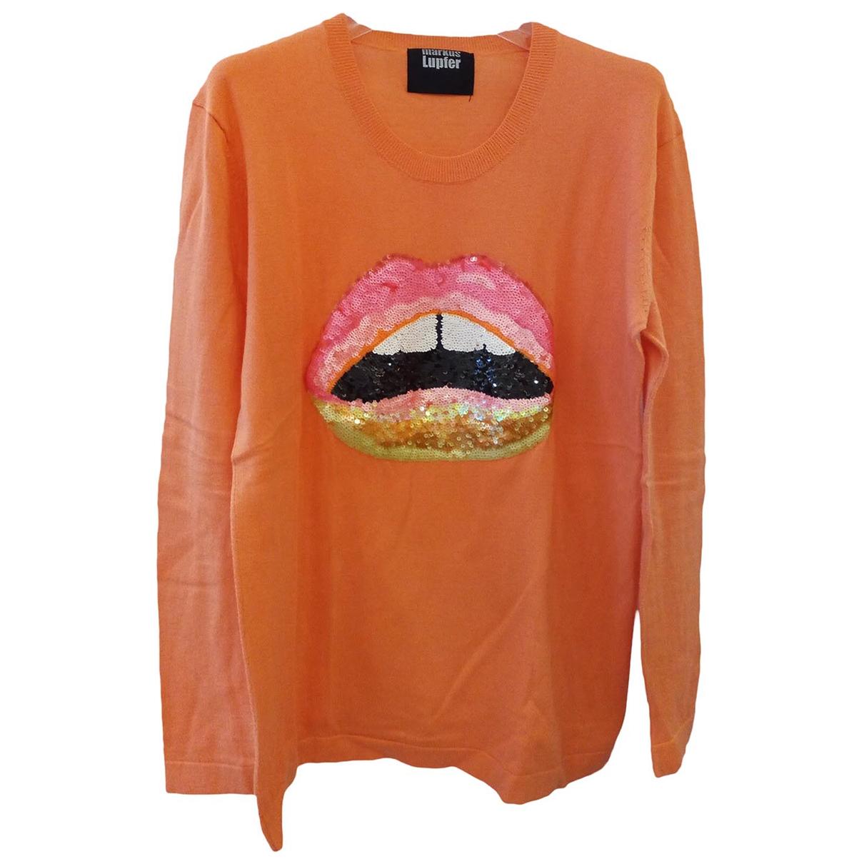 Markus Lupfer \N Orange Cotton Knitwear for Women S International