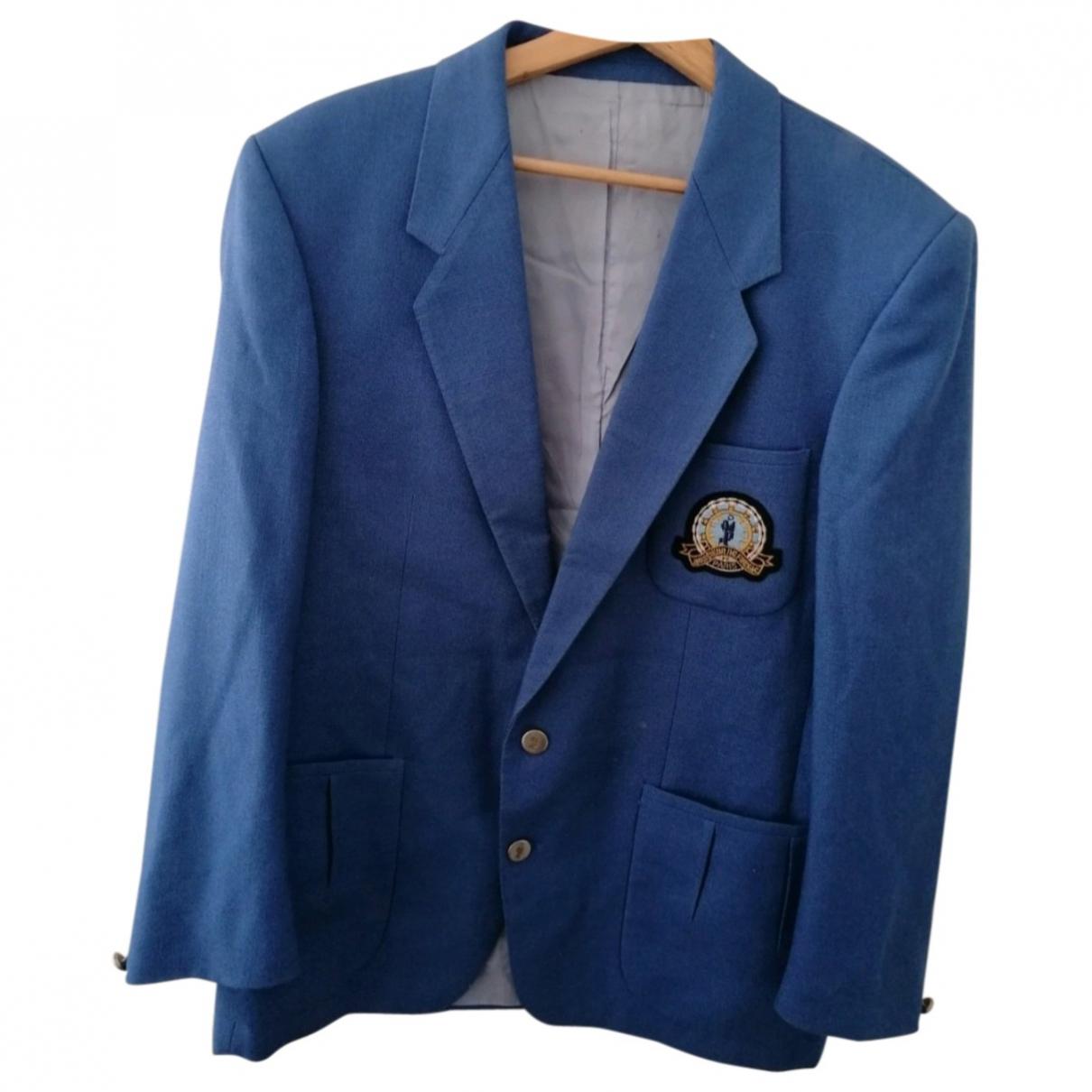 De Fursac - Veste   pour femme en laine - bleu