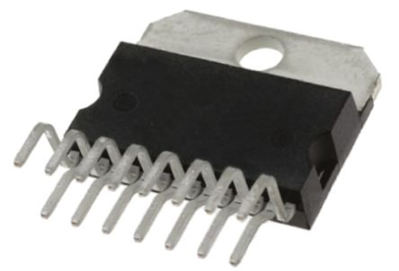 STMicroelectronics L296, 1-Channel, Step Down DC-DC Converter, Adjustable 15-Pin, MULTIWATT V