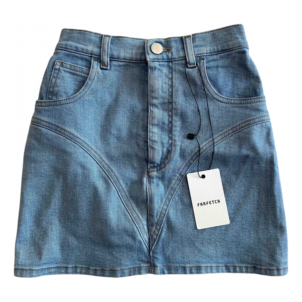 Mini falda Alessandra Rich
