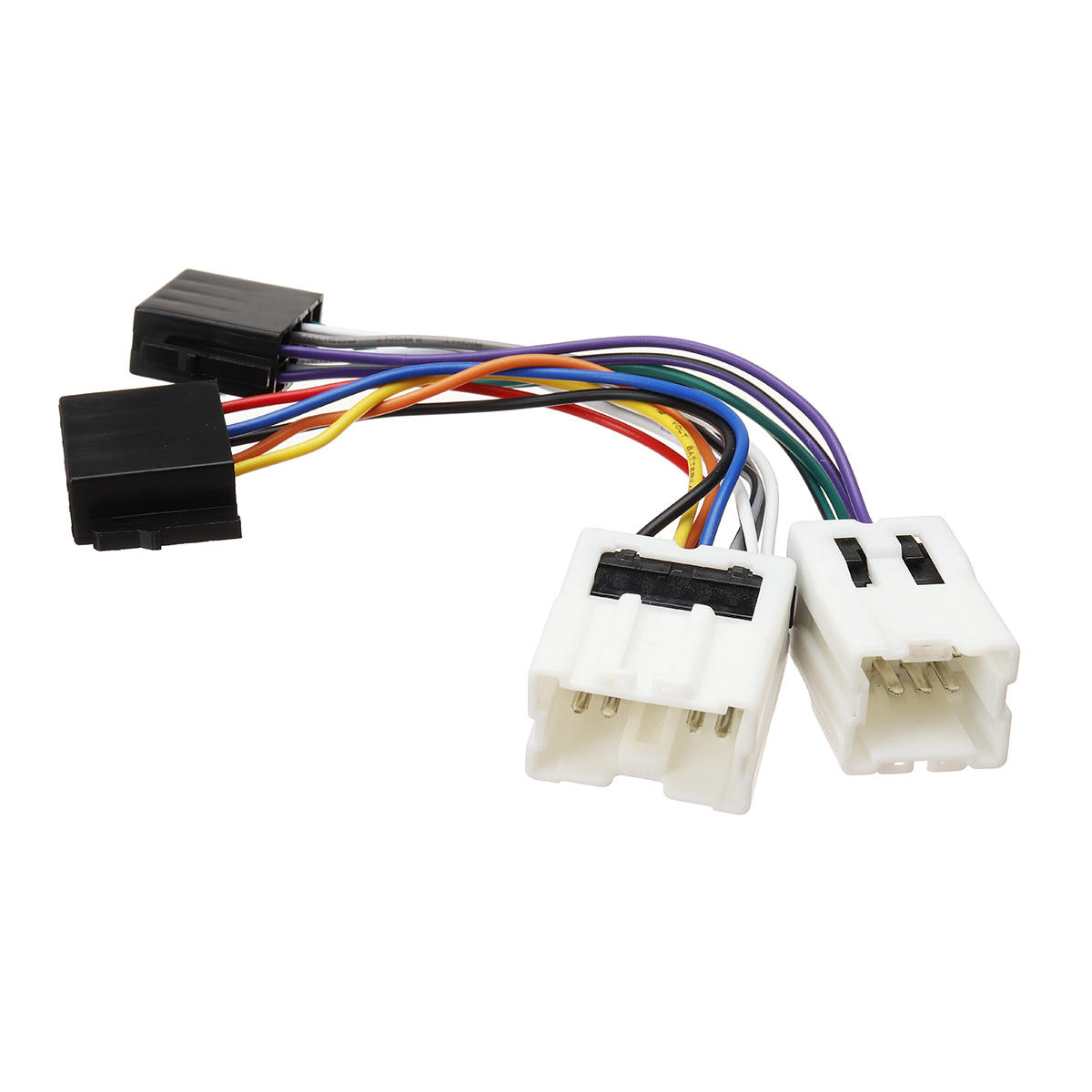 Car 4Pin 9Pin ISO Wiring Harness Stereo Radio Cable Adaptor Wire Loom Audio Connector For Nissan Patrol GQ GU GU7 Y61