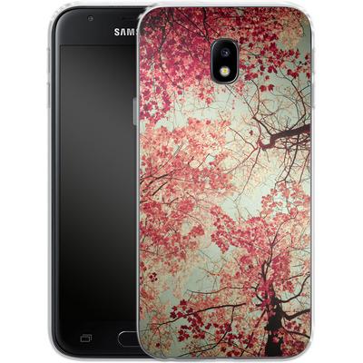 Samsung Galaxy J3 (2017) Silikon Handyhuelle - Autumn Inkblot von Joy StClaire