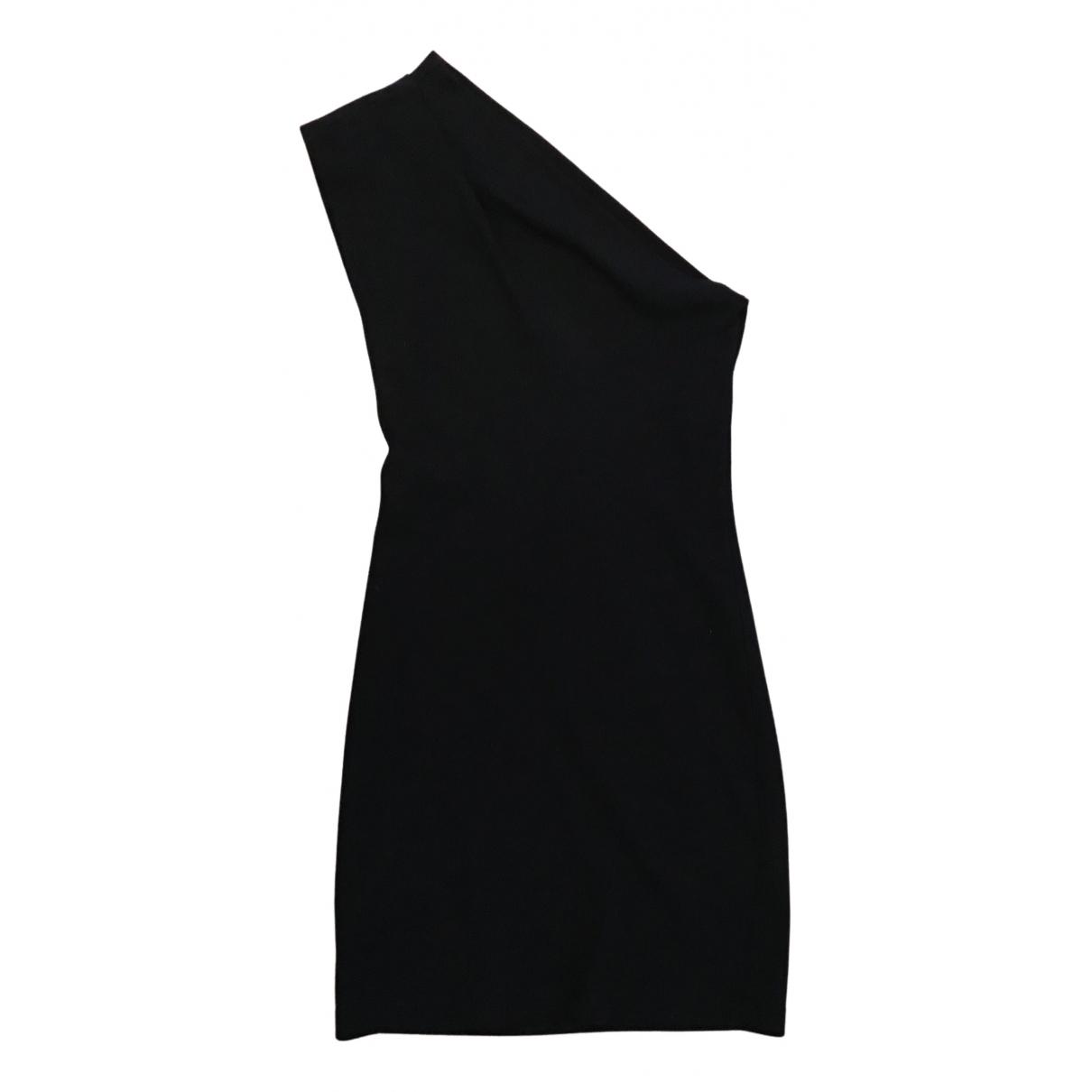 American Apparel - Robe   pour femme en coton - noir