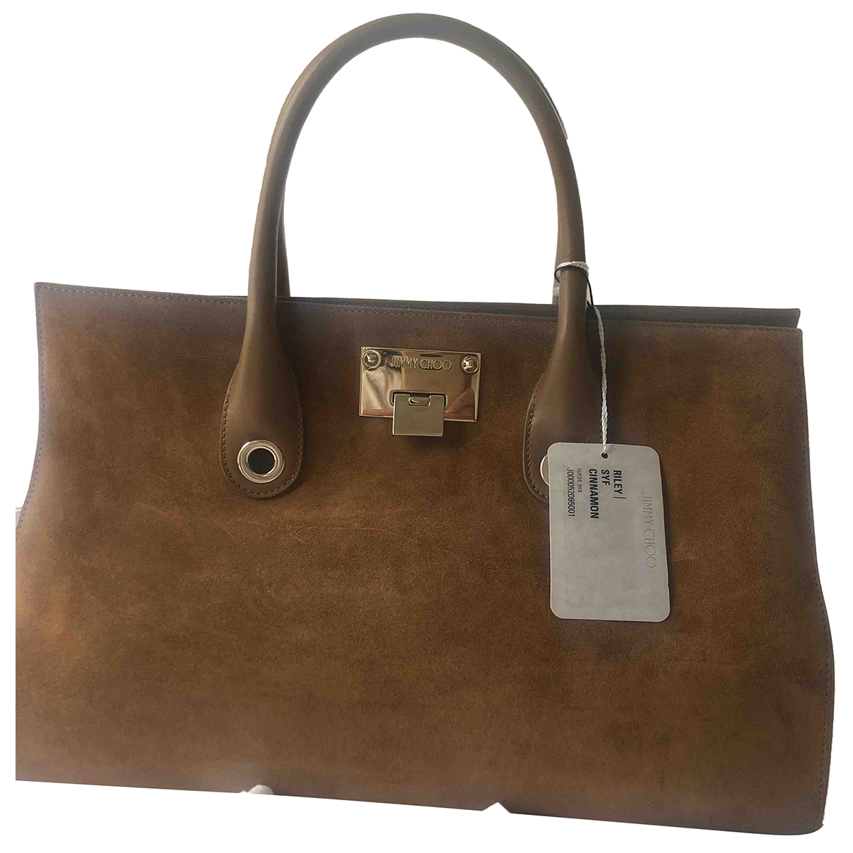 Jimmy Choo \N Camel Suede handbag for Women \N