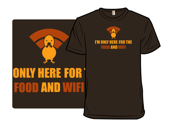 Food And Wifi T Shirt