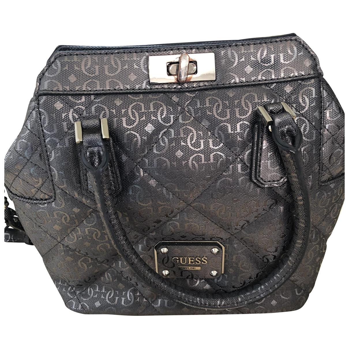 Guess \N Handtasche in  Grau Synthetik