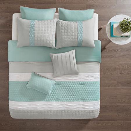 510 Design Irvine 8-pc. Comforter Set, One Size , Green