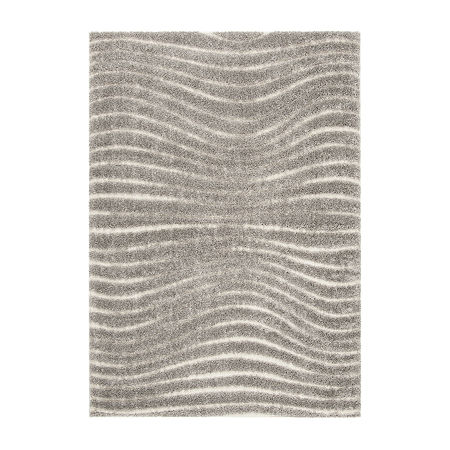Safavieh Memphis Shag Collection Rooster Geometric Area Rug, One Size , Multiple Colors