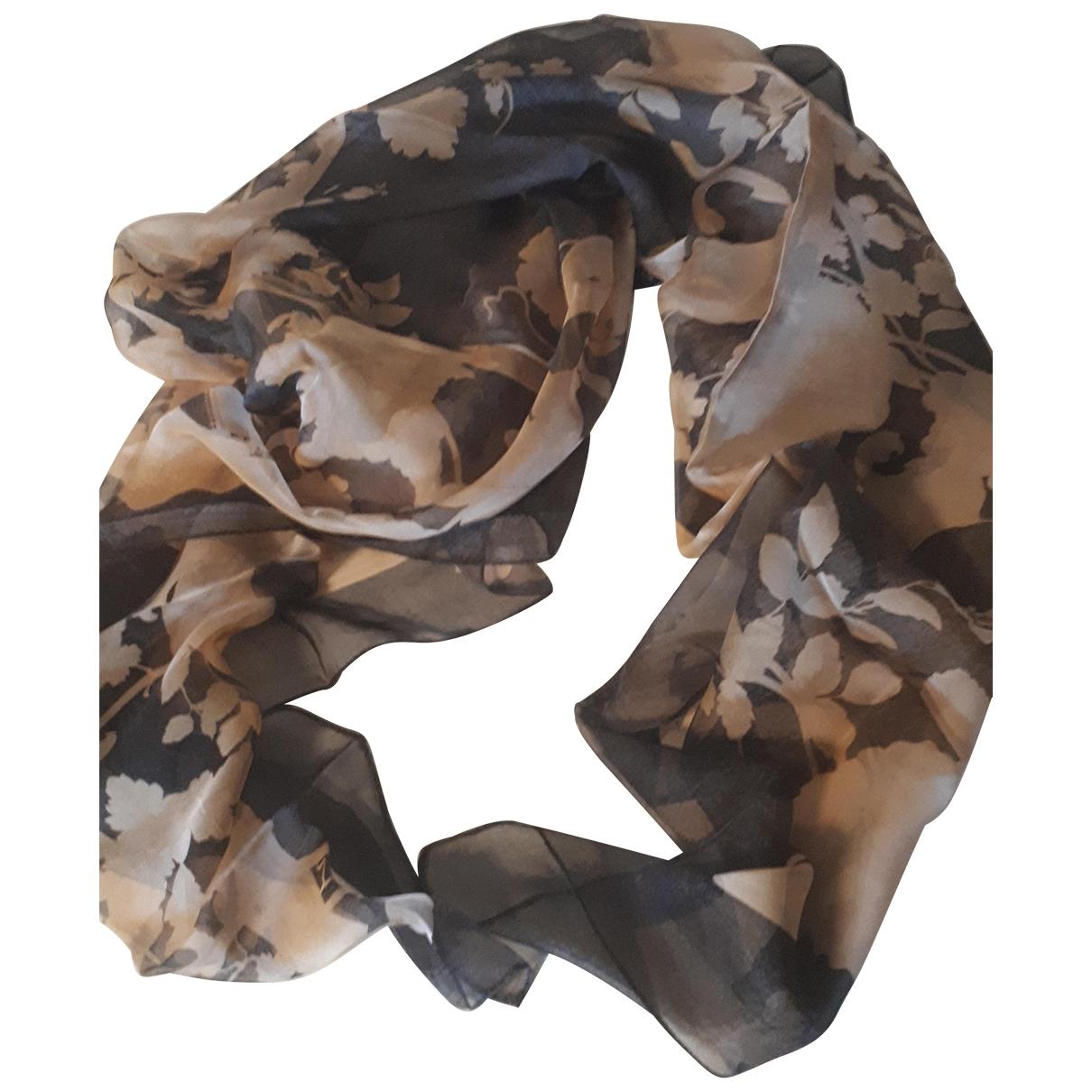 Gianfranco Ferré \N Brown Silk scarf for Women \N