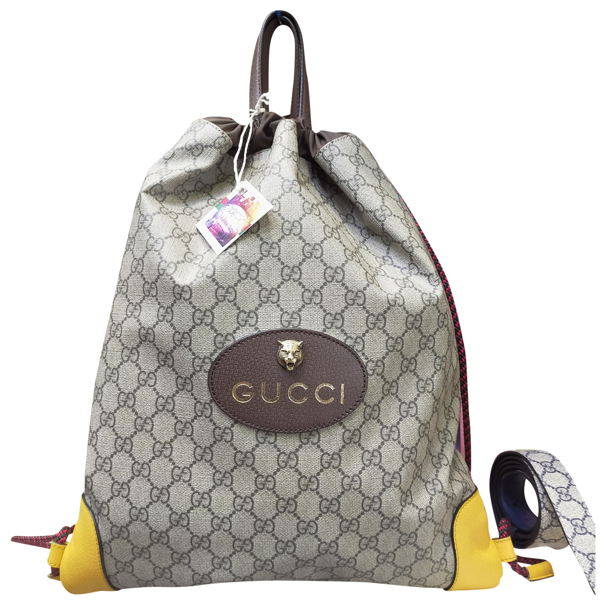 Gucci \N Multicolour Cloth backpack for Women \N