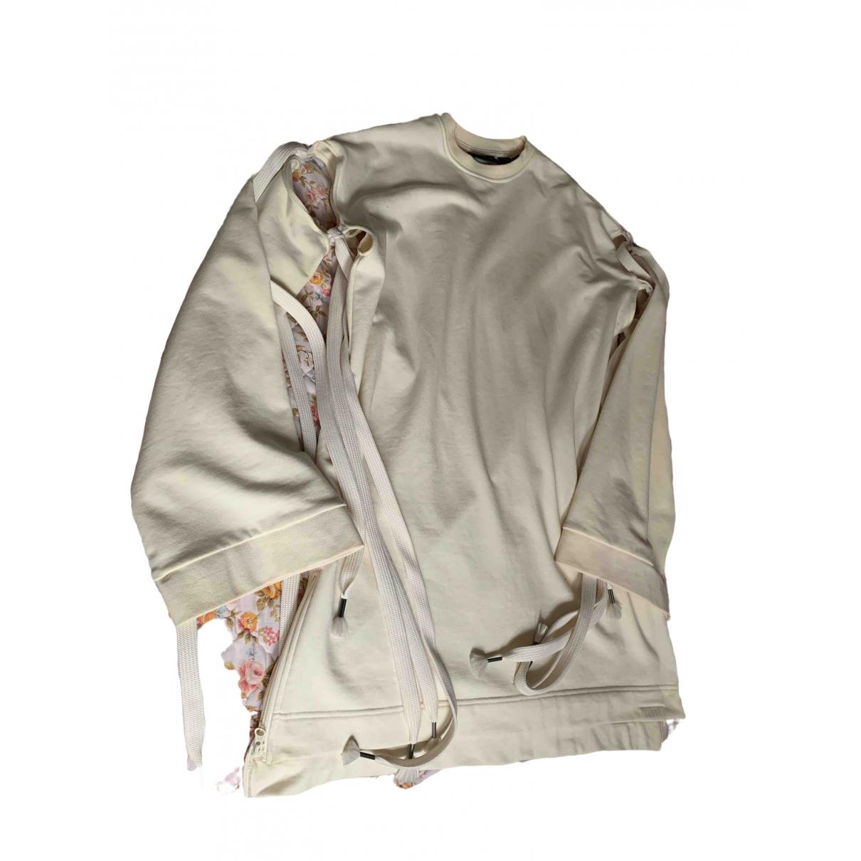 Fenty X Puma \N Kleid in  Ecru Baumwolle