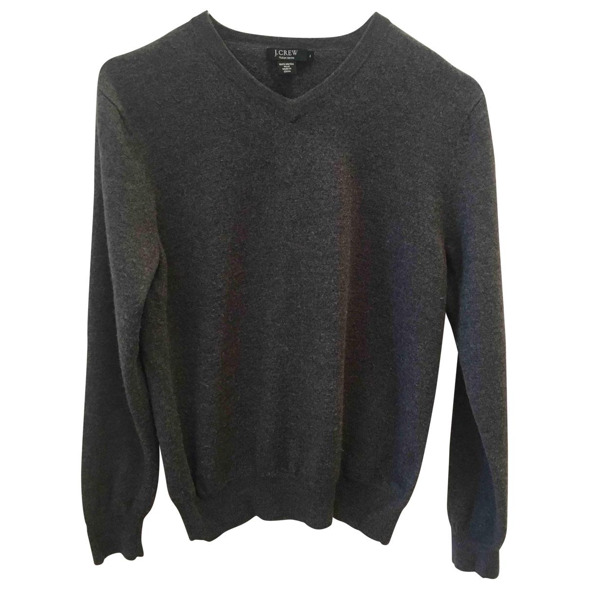 J.crew \N Pullover in  Grau Wolle