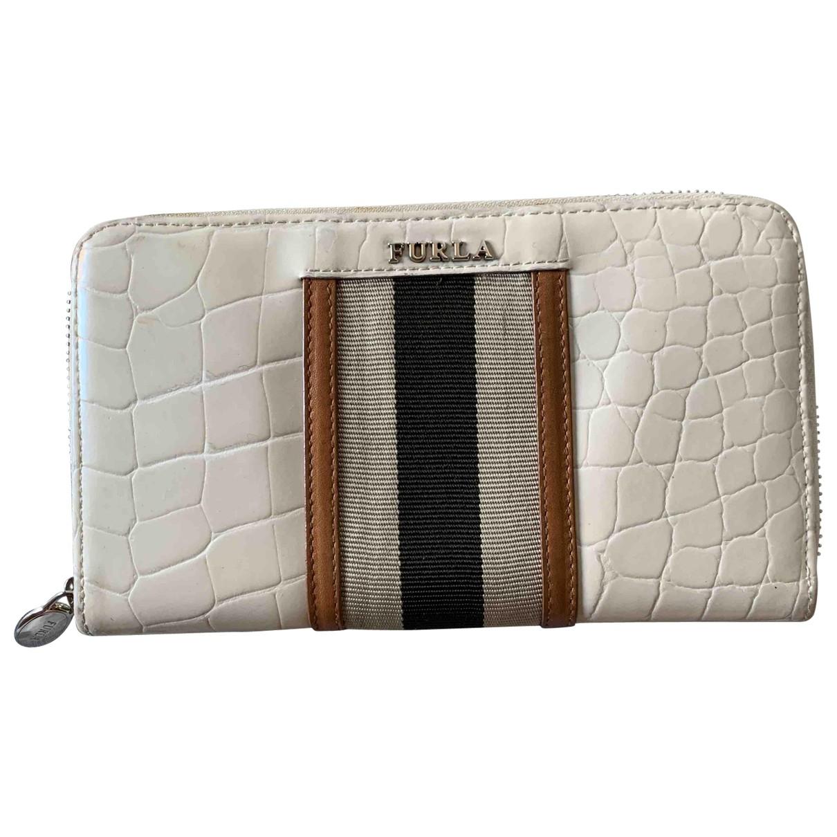 Furla \N White wallet for Women \N