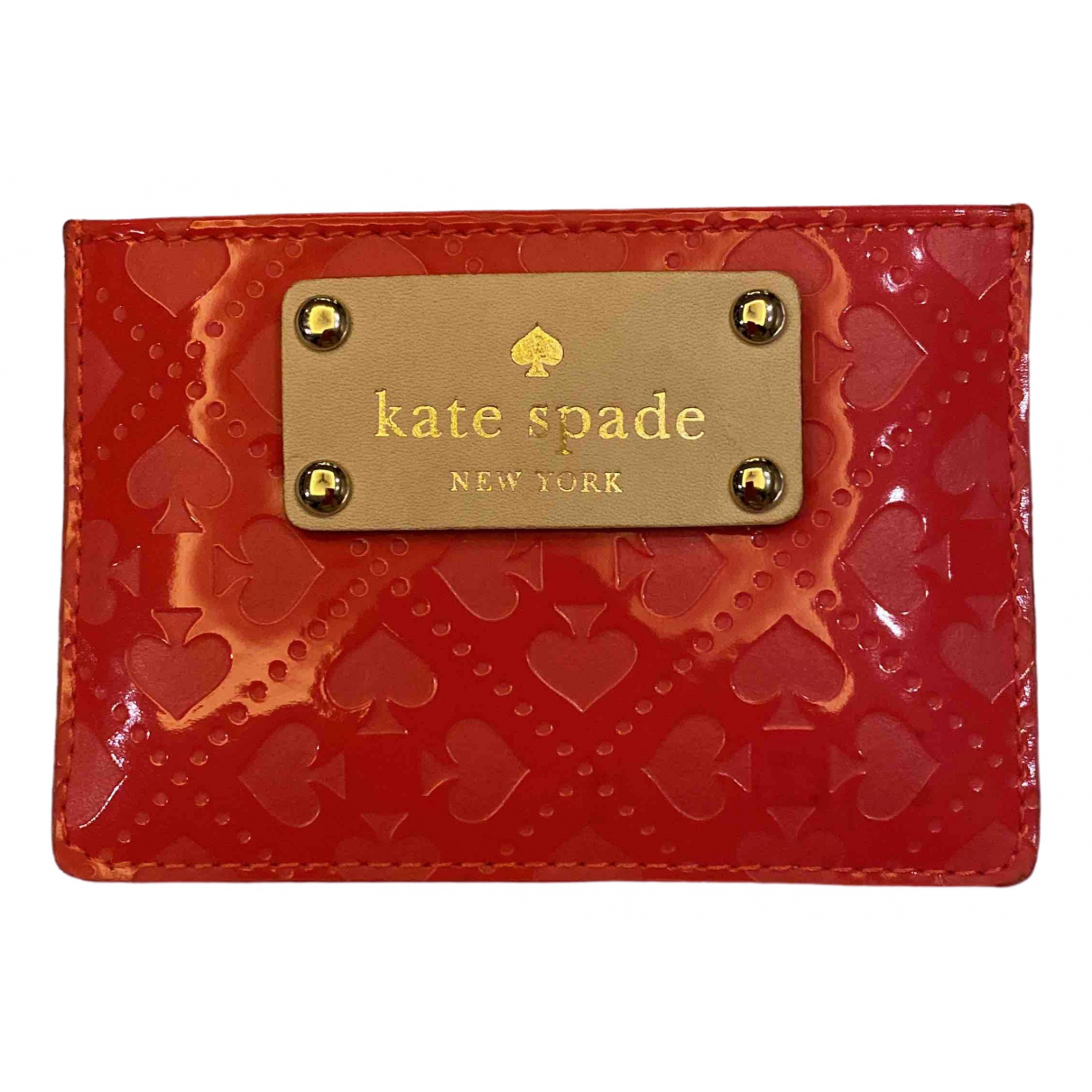 Kate Spade \N Red Leather Purses, wallet & cases for Women \N