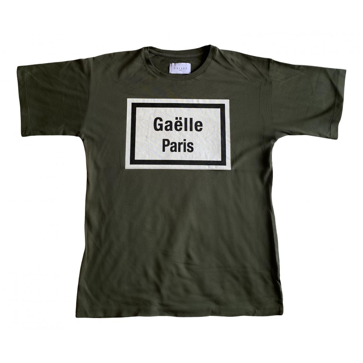 Gaelle Paris \N Top in  Gruen Baumwolle
