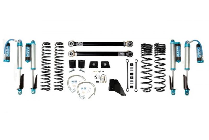Jeep Gladiator JT 4.5 Inch Lift Kit 2020-Pres Gladiator Enforcer Lift Stage 2 w/ EVO SPEC 2.5 King Shocks EVO Mfg