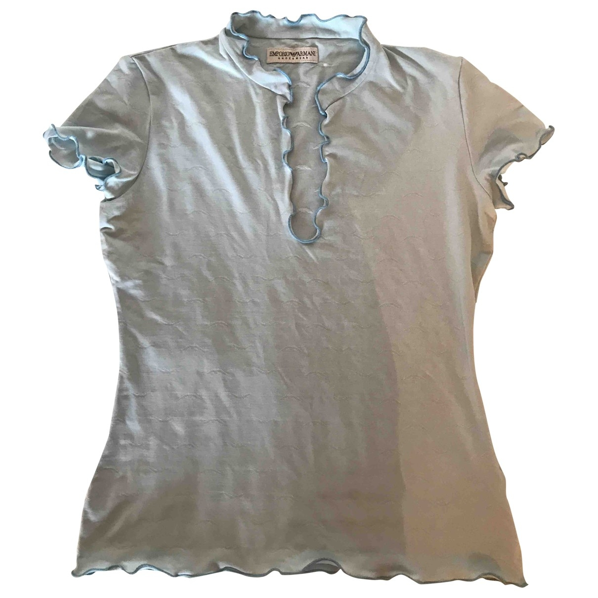 Emporio Armani \N Blue  top for Women 42 IT
