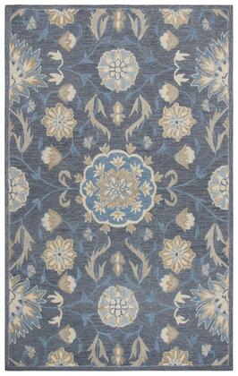 RESRS912ADRBG0113 Resonant Transitional Area Rug Size 10' X 13'  in Dark
