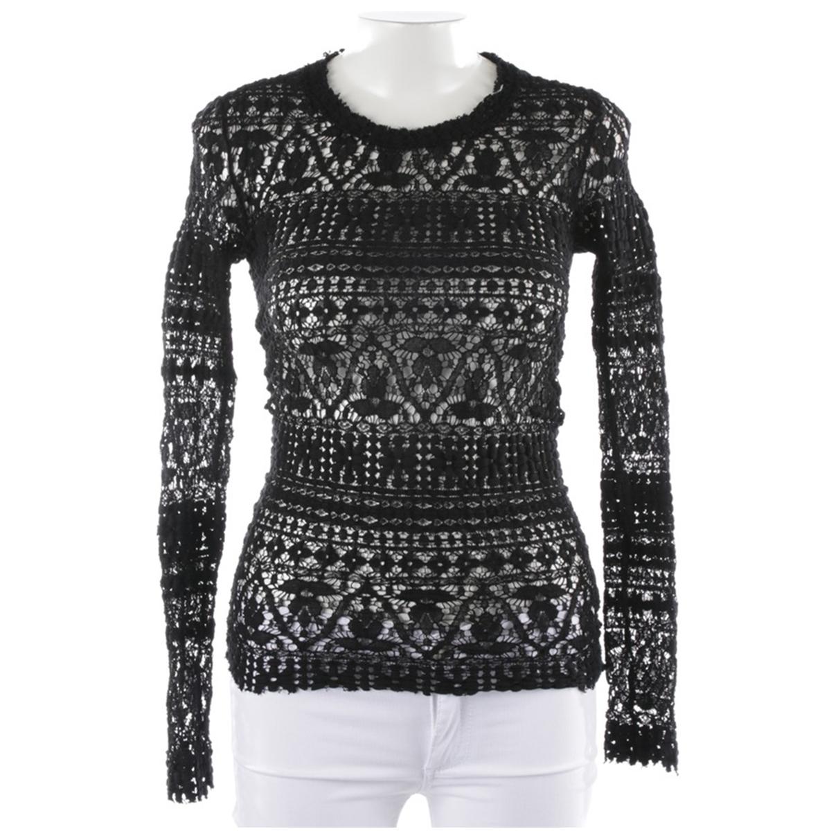 Isabel Marant - Chemises   pour homme en cuir - noir