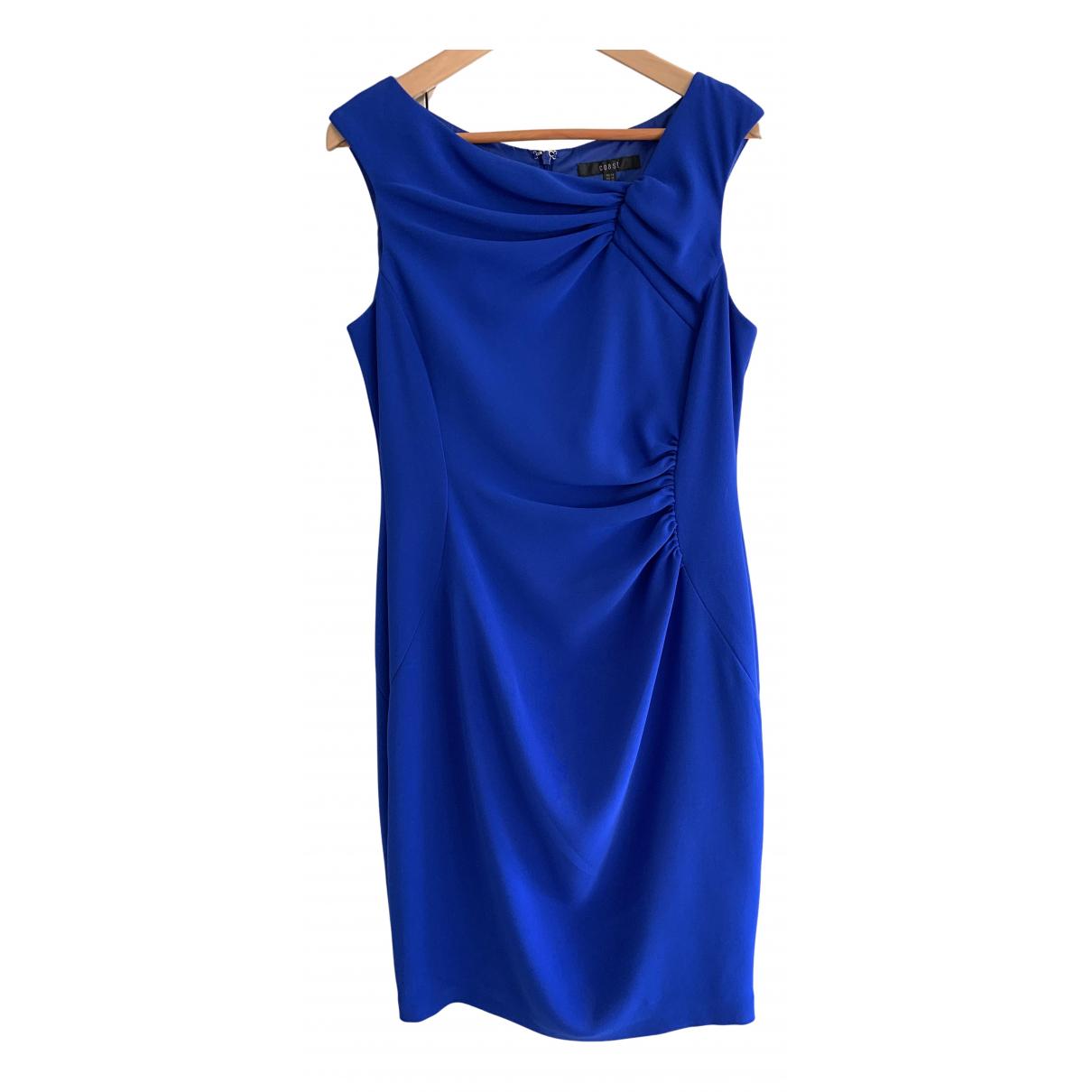 Coast \N Kleid in  Blau Synthetik