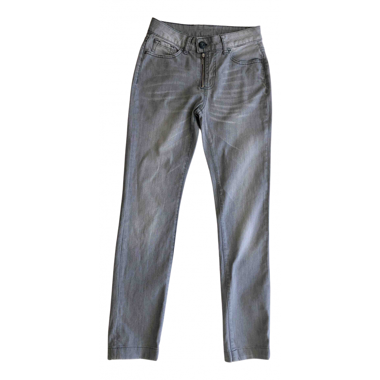 Buffalo N Grey Cotton - elasthane Jeans for Women 34 FR