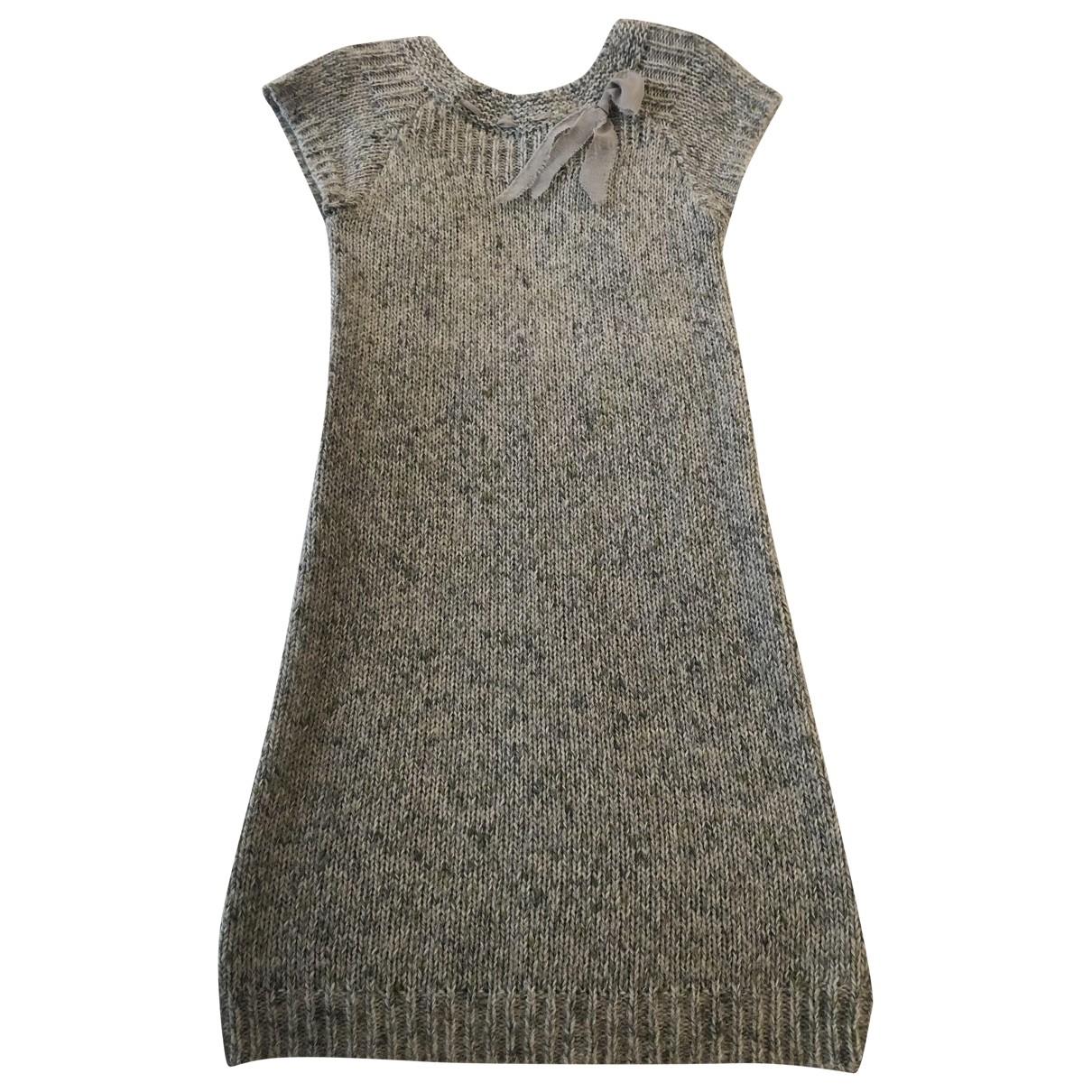 Ermanno Scervino - Robe    pour enfant en laine - vert