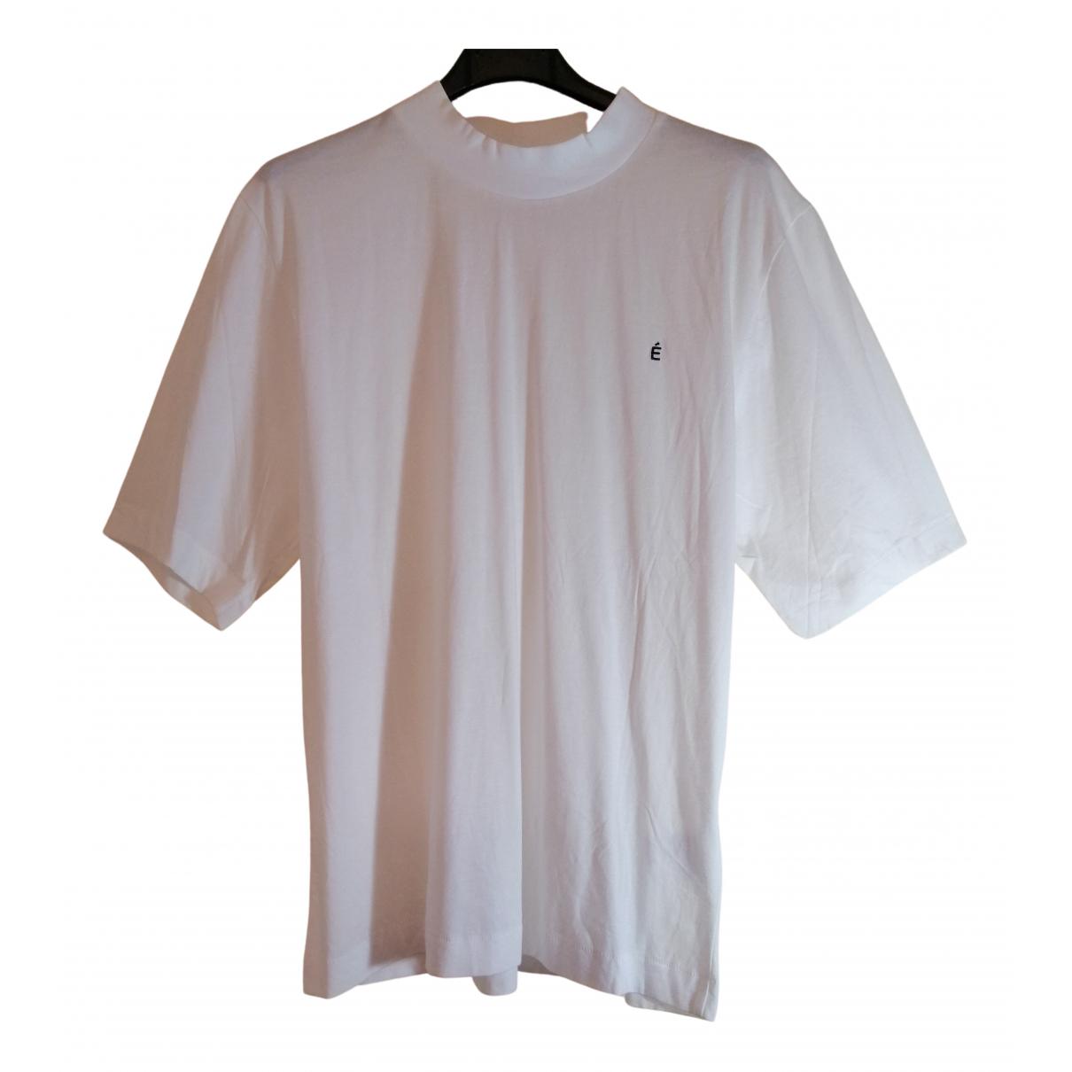 Études Studio N White Cotton T-shirts for Men S International