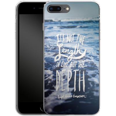Apple iPhone 7 Plus Silikon Handyhuelle - Depth von Leah Flores