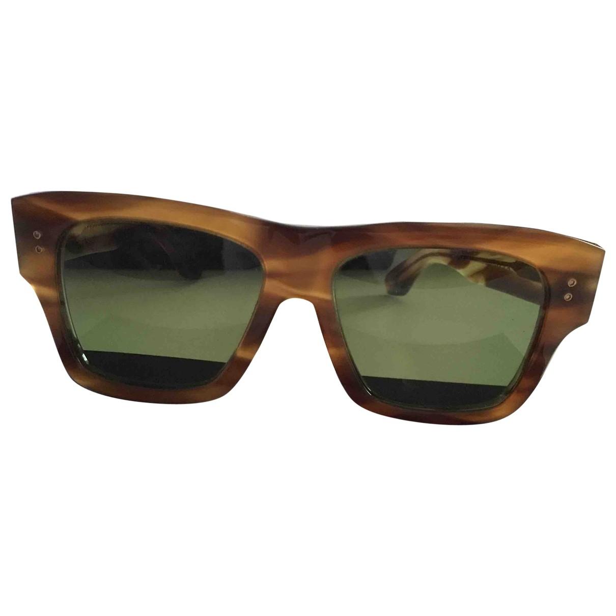 Dita Von Teese \N Camel Sunglasses for Men \N
