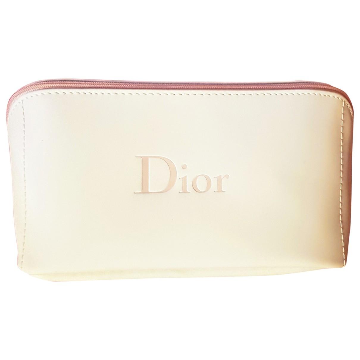 Dior - Sac de voyage   pour femme - blanc